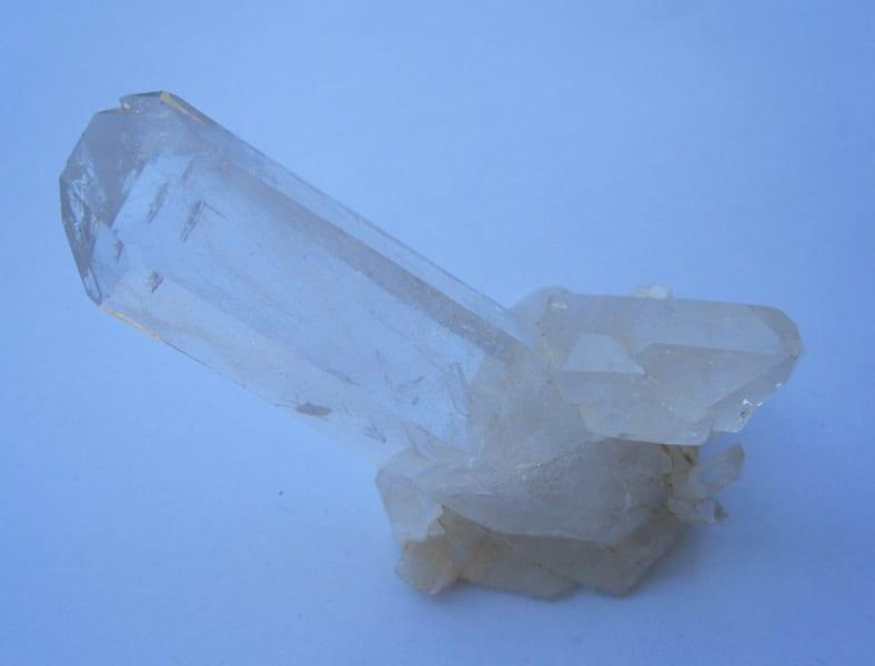 Cristaux de quartz, Les Deux Alpes, Oisans, Isère.
