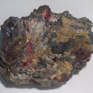 Proustite, mine de Chañarcillo, Chili.