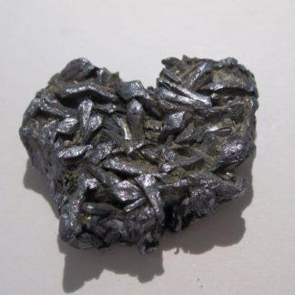 Molybdénite cristallisée, Milpillas, Cananea, Mexique.