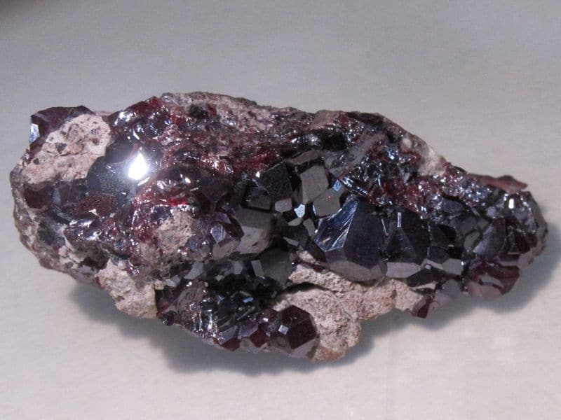 Cuprite, mine de Milpillas, Sonora, Mexique.