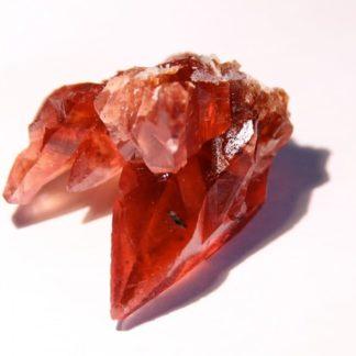 Rhodochrosite, N'Chwaning Mine, Hotazel, Kuruman, Afrique du Sud.