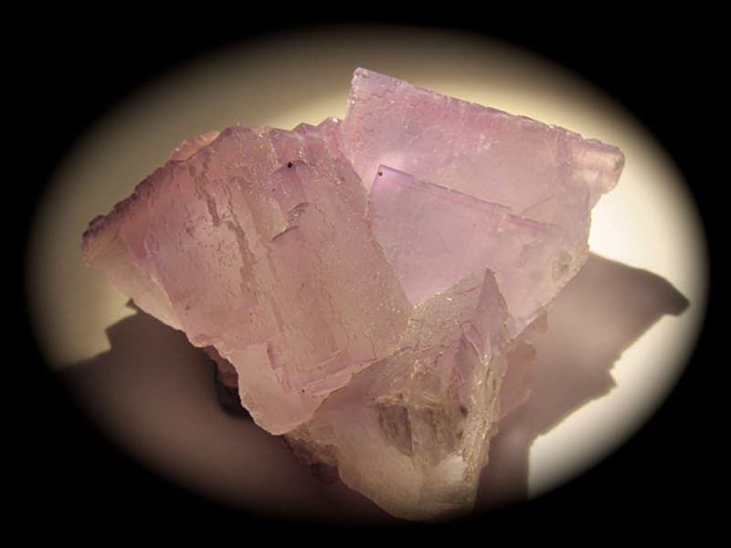 Fluorite, Elmwood Mine, Smith County, Tennessee, USA.
