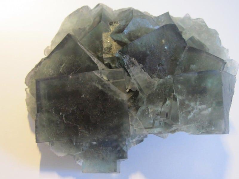 Fluorine verte, mine de L'Avellan, Var.