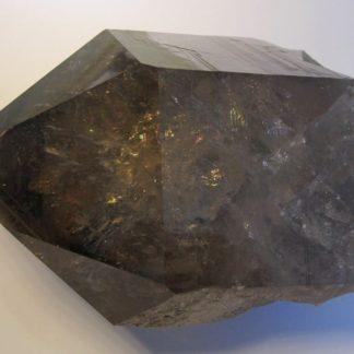 Cristal de quartz fumé, La Toura, Les Deux Alpes, Isère.