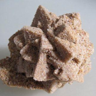 Calcite pseudomorphosée en grès, Cabrerets, Lot.