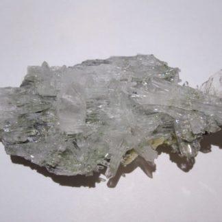 Cookéite verte, Quartz et sidérite, mine de La Mure, Isère.