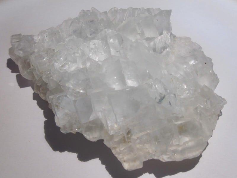 Fluorine, mine du Beix, Saint Germain près Herment, Puy de Dôme.
