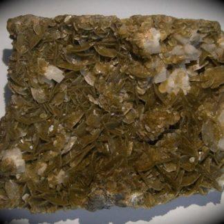 Sidérite verte et dolomite de La Mure (Isère)