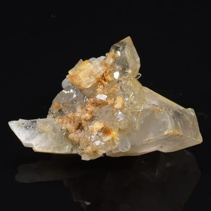 Albite, quartz, dolomite, Bramans, Savoie.
