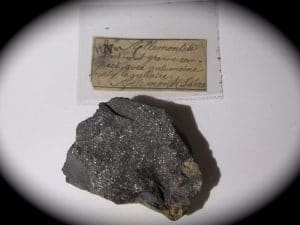 Allemonite, Les Chalanches, Allemont, Oisans, Isère. Ex collection Damour.