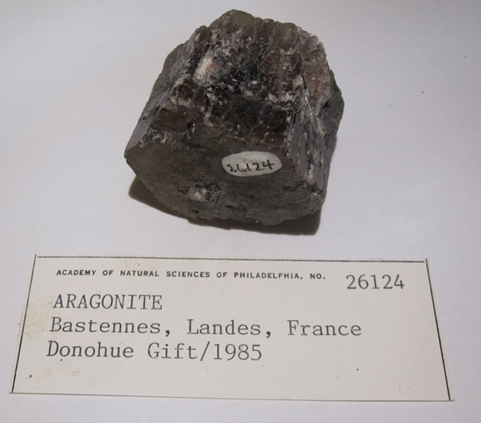 Aragonite de Bastennes, Landes.