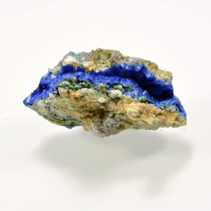 Azurite, Mine de l'Hubac de Jouradan, Daluis, Alpes-Maritimes