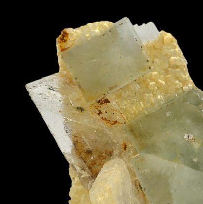 Barytine, fluorine et quartz, L'Avellan, Var.