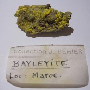 bayleyite