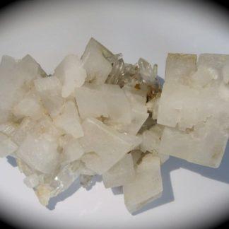 Calcite et quartz, Le Noiret supérieur, Montvernier, Maurienne, Savoie.