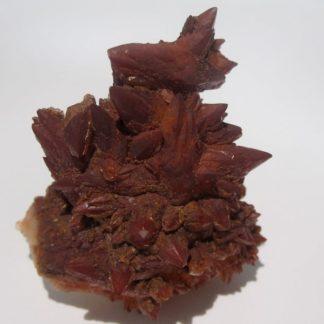 Calcite rouge de Briançon, Hautes Alpes.