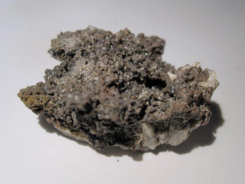 Chlorargyrite (Cérargyrite), mine de Caracoles, Chili.