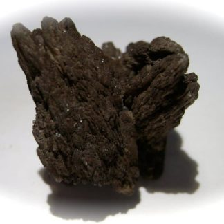 Cérusite de la mine du Rossignol à Chaillac, Indre.
