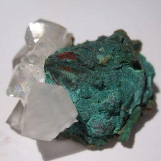 Chalcopyrite et quartz, Le Burg, Tarn.