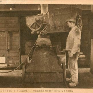 "Carte Postale Ancienne (CPA) ""Mine de Potasse (Dornach)""."