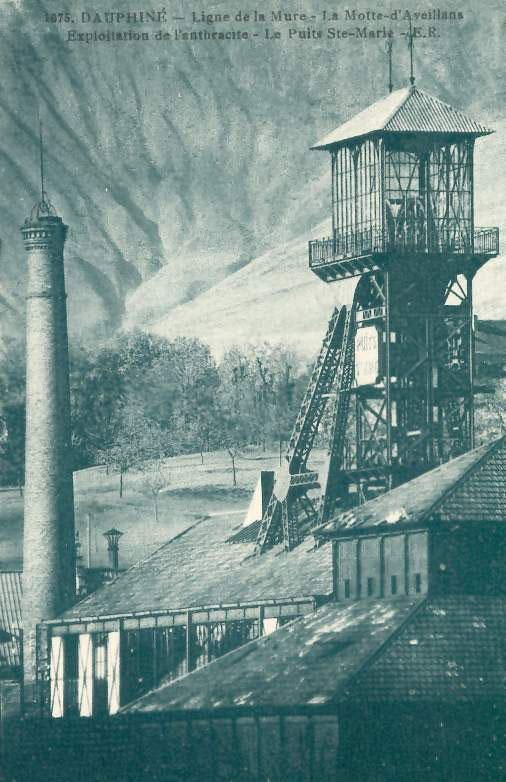 Mines de La Mure / La Motte d'Aveillans (Isère)