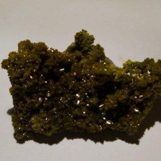 Pyromorphite verte et fluorine de Chaillac (Indre).