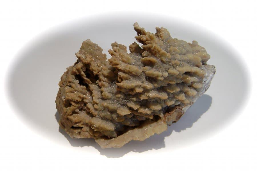 Fluorine micro-cristalline de la mine des Porres, Les Arcs, Var.