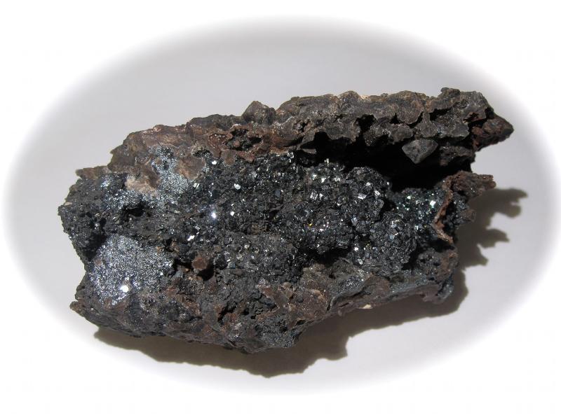 Hématite de Saphoz (Faucogney), Haute Saône.