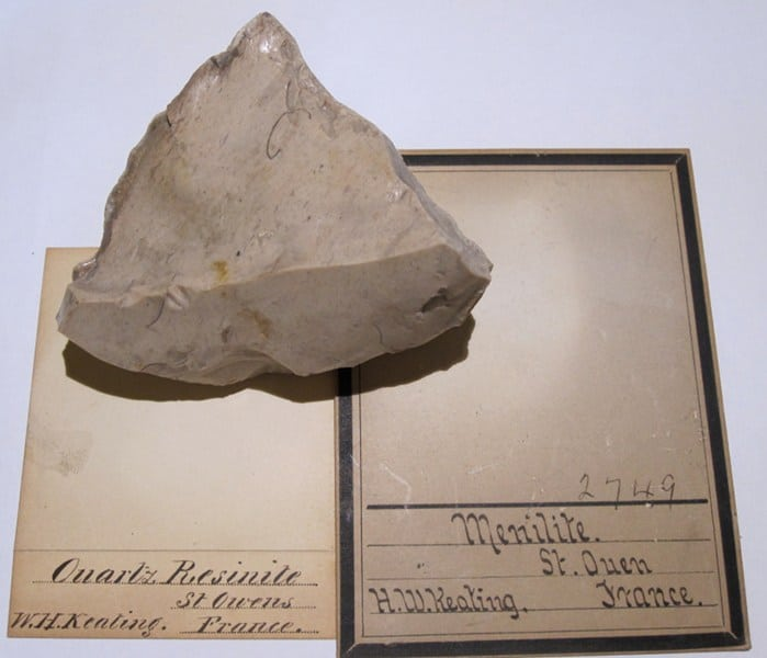 Quartz résinite, Saint-Ouen, Paris, Seine-Saint-Denis, Île-de-France.