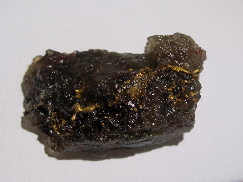 Or natif, mine de La Gardette, Villard-Notre-Dame, Oisans, Isère.