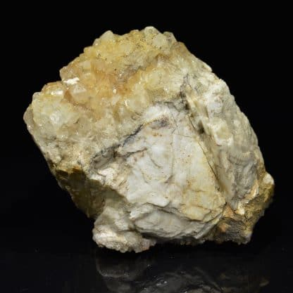Barytine et quartz, Chaponost, près de Lyon, Rhône.