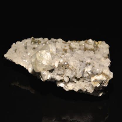 Calcite et dolomite, mine de Trèves, Gard.