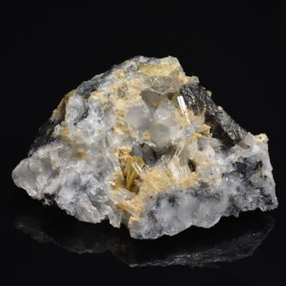 Cannizzarite, sidérite, tétraédrite, quartz La Mure, Isère, Oisans