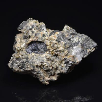 Cannizzarite, sidérite, tétraédrite, La Mure, Isère, Oisans