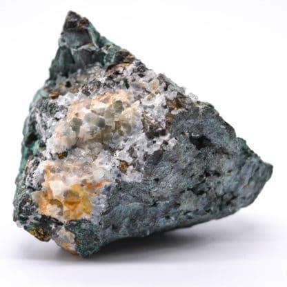 Chalcopyrite concrétionnée, Montroc, Tarn.
