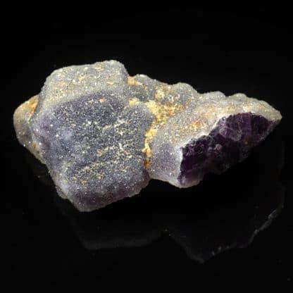 Fluorine, quartz, carrière du Pont des Bouyges, Moustier-Ventadour, Corrèze
