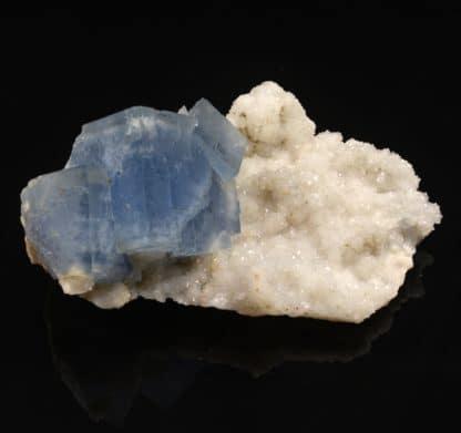 Fluorine et quartz, Le Burc (Le Burg), Tarn,
