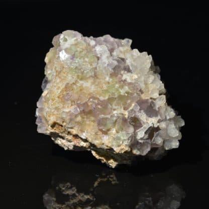 Fluorine, quartz, Saint-Laurent-Les-Bains, Ardèche