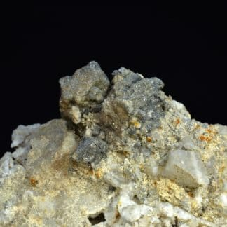 Galène, cérusite, mine Vallaury, Plan-de-la-Tour, Var