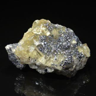 Galène, fluorine, Chaillac, Indre