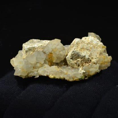 Galène, Hydroxyapatite et Pyromorphite, L'Argentolle, Saône-et-Loire, Morvan.
