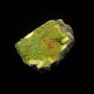 Galène, pyromorphite, hydroxyapatite, L'Argentolle, Saône-et-Loire.