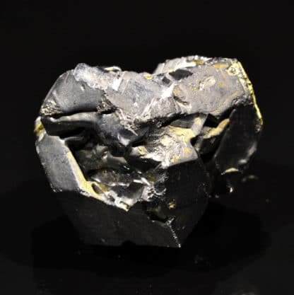 Galène avec quartz, mine de Dalnegorsk, Russie.