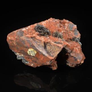 Hématite eisenkiesel de Saphoz, Faucogney, Haute-Saône, Vosges.