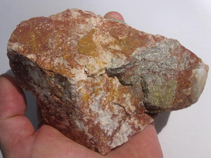 Fluorine et Calcite, Neaux, Loire.