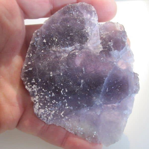 Fluorine violette, filon Sud 3, mine de Fontsante, Var.