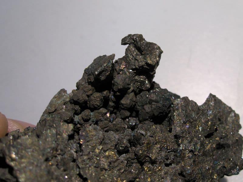 """Chalcopyrite """"blister copper"""", Cuzac, Lot."""