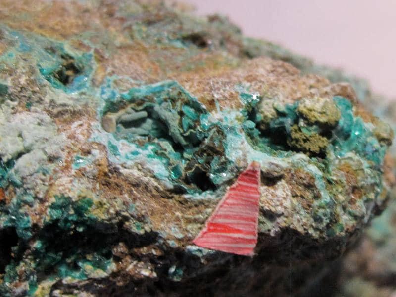 Chalcopyrite, Salsigne, Mas Cabardès, Carcassonne, Aude.