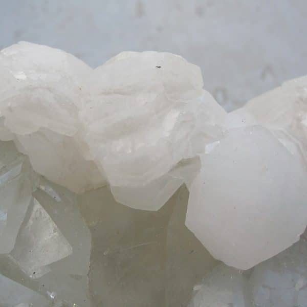 Calcite et quartz, Peyrebrune, Tarn.