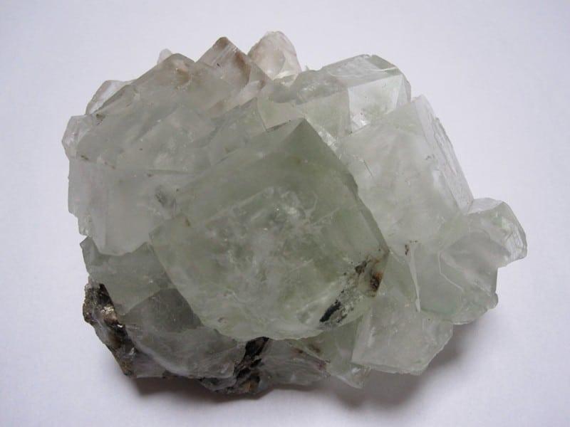Fluorite, Jost-Christian Mine, Wolfsberg, Stolberg, Harz, Saxe, Allemagne.